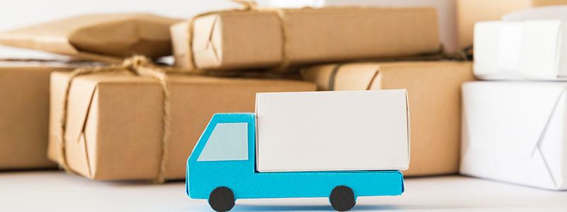 トラックの模型